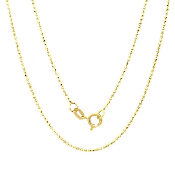 shop barrel rope diamond link chain yellow chains cut necklace ladies gold mens jewelry