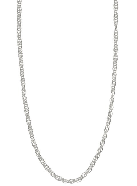 Sterling Essentials Sterling Silver 16-inch French Rope Chain (2mm)