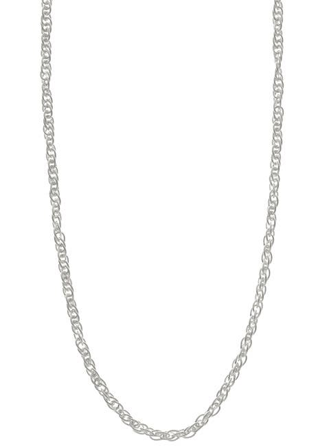 Sterling Silver 18-inch French Rope Chain (2mm)