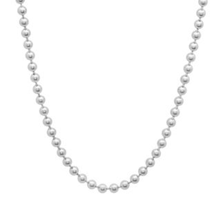 Sterling Essentials Sterling Silver Bead Chain (2.5mm)