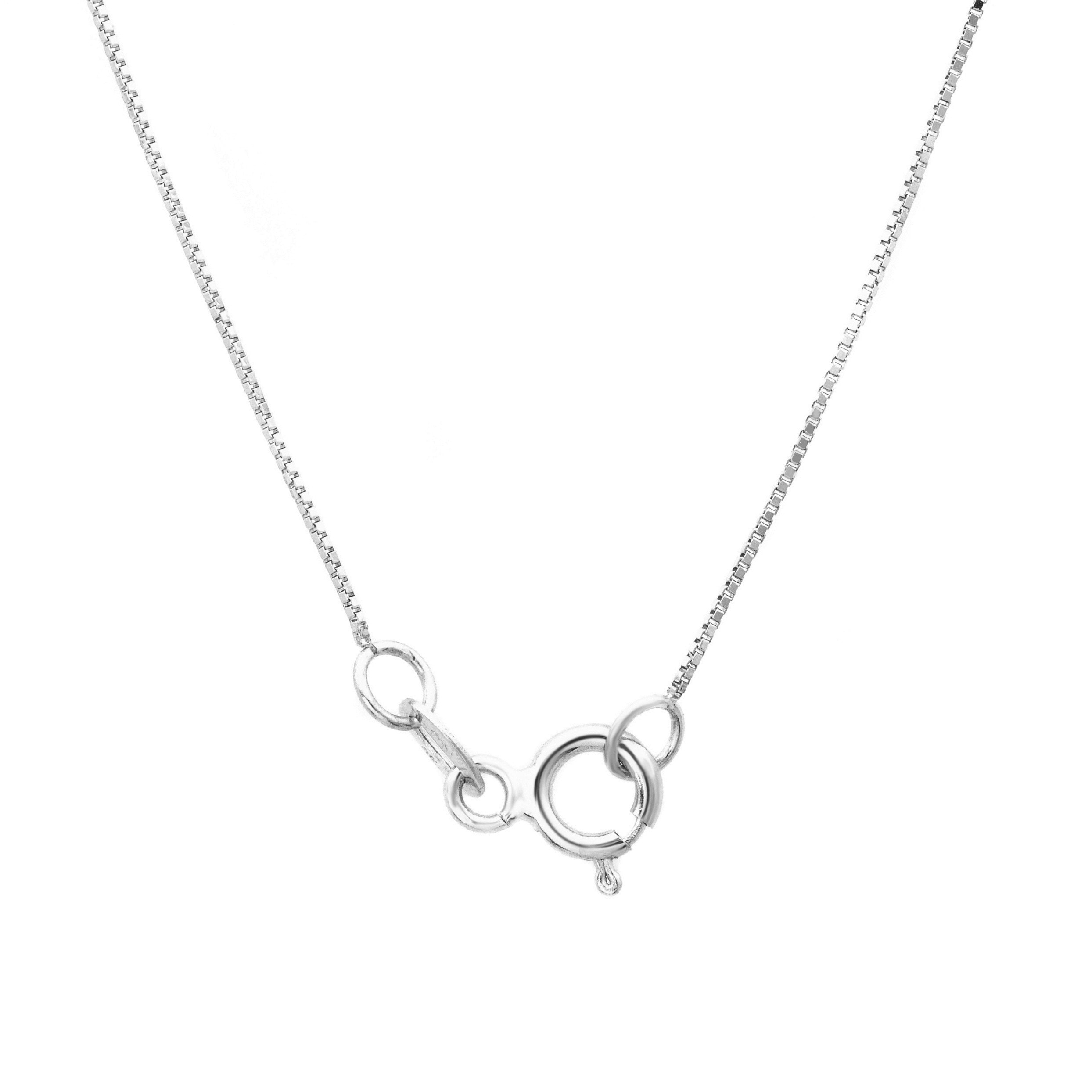 Roberto Martinez Sterling Silver 1 mm Snake Chain Necklace 16-30