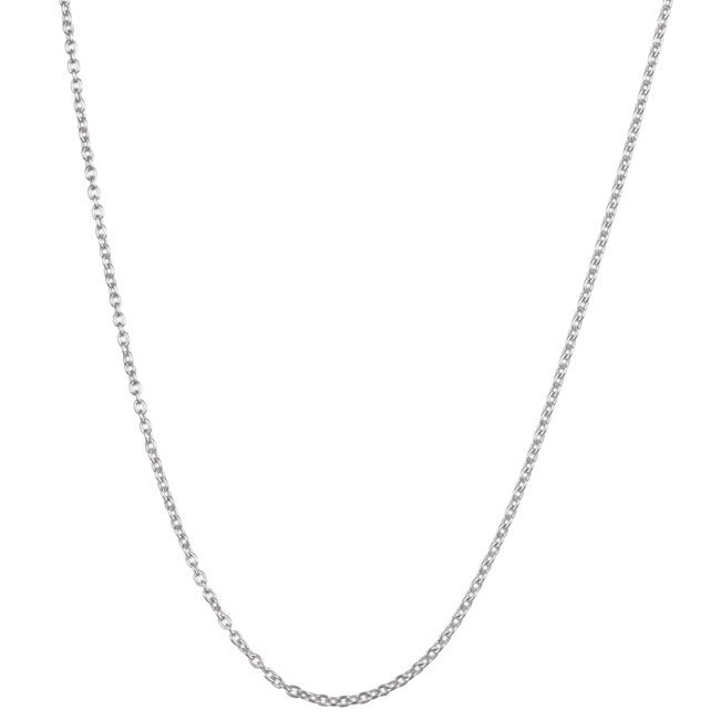 Sterling Essentials Sterling Silver 16-inch Cable Chain