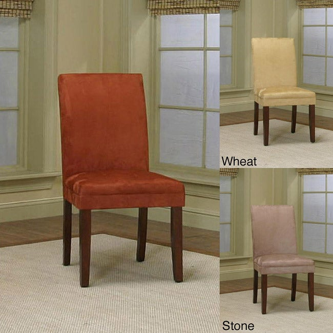 Parkwood Brick Parsons Chair (Set of 2)