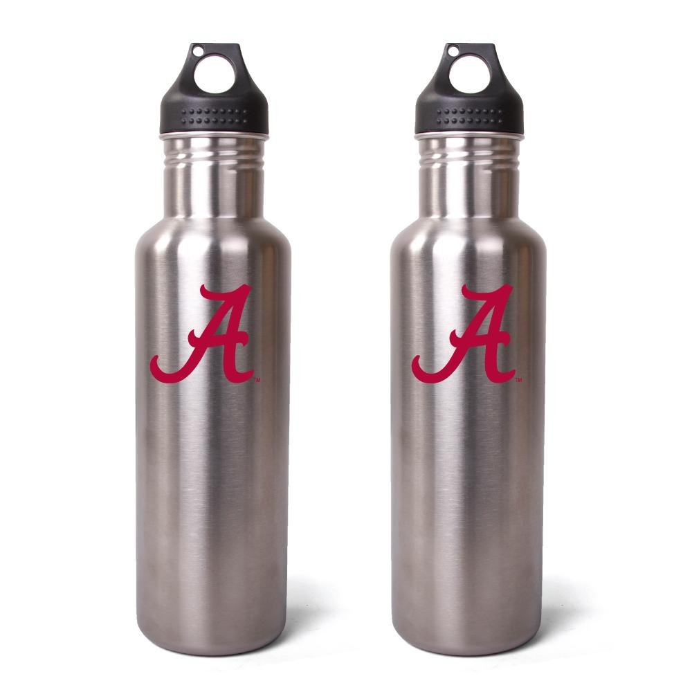 Pinemeadow Alabama Crimson Tide 27-oz Stainless Steel Water Bottles (Pack of 2)