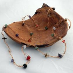Handmade Beauty from a Tire Agate Necklace (Kenya)