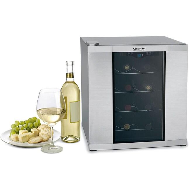 Cuisinart Cwc 1600fr 16 Bottle Wine Cooler Refurbished