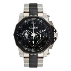 Corum Men's 'Admirals Cup' Chronograph 48 Titanium Watch - Thumbnail 2