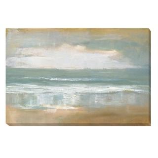 Caroline Gold 'Shoreline' Unframed Canvas Art