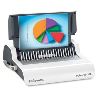 Fellowes Electric Pulsar 300-sheet 1 1/2-inch Comb Binding Machine