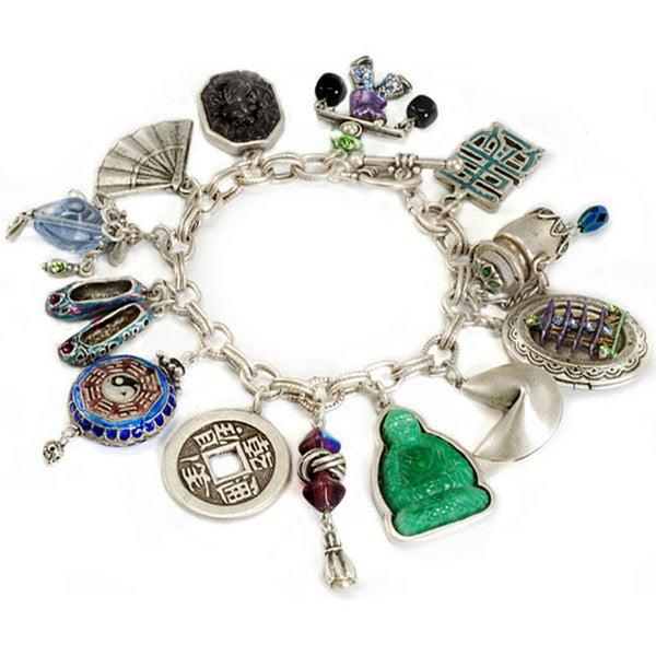 Sweet Romance Chinese Charm Bracelet