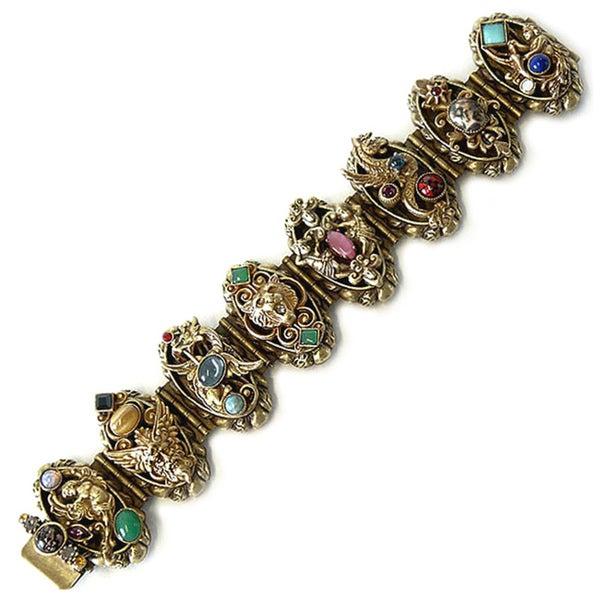 Sweet Romance Renaissance Zephyrs and Griffins Vintage Bracelet