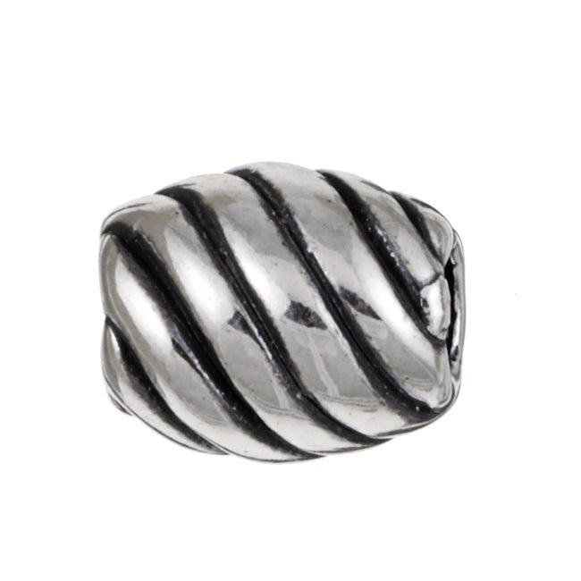 Sterling Essentials Sterling Silver Diagonal Bead