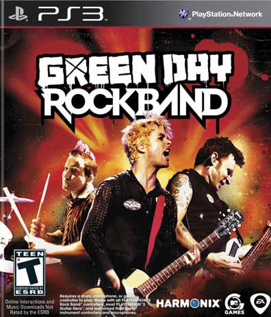 PS3 - Green Day: Rock Band