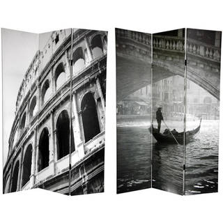 Handmade 6' Canvas Coliseum and Canal Room Divider