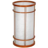 Handmade Japanese-style 17-inch Shibuya Shoji Lantern Lamp (China)
