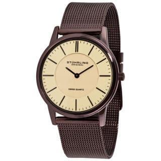 Stuhrling Original Unisex Newberry Ultra-slim Swiss Watch|https://ak1.ostkcdn.com/images/products/4750462/Stuhrling-Original-Newberry-Ultra-slim-Swiss-Watch-P12656012.jpg?impolicy=medium