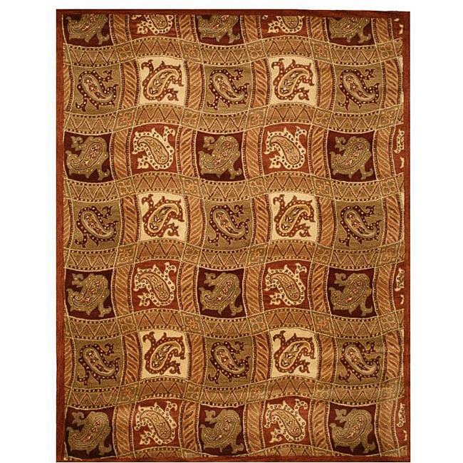 Hand-tufted Ganges Wool Rug - 8' x 10""