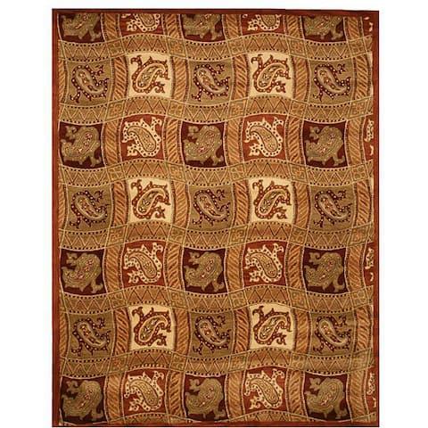 "Hand-tufted Ganges Wool Rug - 8' x 10"""