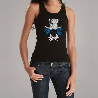 Los Angeles Pop Art Women's Alice in Wonderland Tank Top
