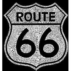 Los Angeles Pop Art Women's Route 66 Tank Top