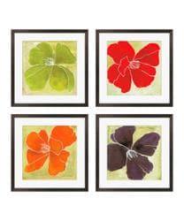 Gallery Direct Luna Gunn 'Color Study II, III, V, VI' Giclee Framed Art (Set of 4) - Thumbnail 1