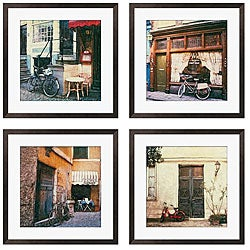 Gallery Direct Ernesto Rodriguez 'Le Bicyclette Series' Giclee Framed Art (Set of 4)