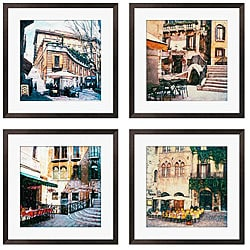 Gallery Direct Rodriguez 'Ristorante Italiano Series' Giclee Art (Set of 4)