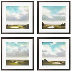 Gallery Direct St. John 'Light Precipitation I-IV' Giclee Framed Prints (Set of 4)