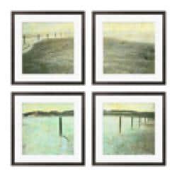 Gallery Direct Sara Abbott 'Beach Series I-IV' Giclee Framed Prints (Set of 4) - Thumbnail 2