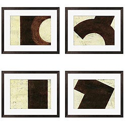 Gallery Direct Benjamin Arnot 'Everyday Objects I-IV' Giclee Framed Prints (Set of 4)