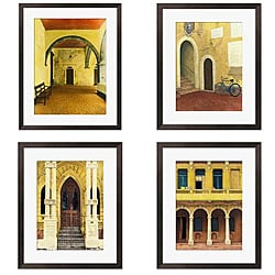 Gallery Direct Deborah DuPont 'Tranquility Series' Giclee Framed Prints (Set of 4)