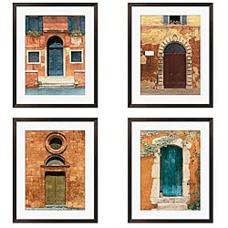 Gallery Direct Deborah DuPont 'Door Series I-IV' Giclee Framed Art (Set of 4)