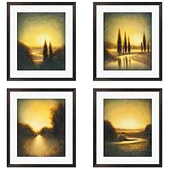 Gallery Direct St. John 'Autumn Oasis' 4-piece Framed Art Set