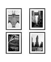 Gallery Direct Michael Joseph 'New York Series' 4-piece Framed Art Set