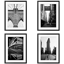 Gallery Direct Michael Joseph 'New York Series' 4-piece Framed Art Set