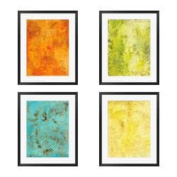 Gallery Direct Leslie Saris 'Modal I, VI, VII, VIII' 4-piece Framed Art Set