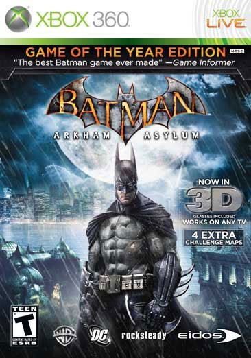 Xbox 360 - Batman Arkham Asylum: Game of the Year - Thumbnail 0