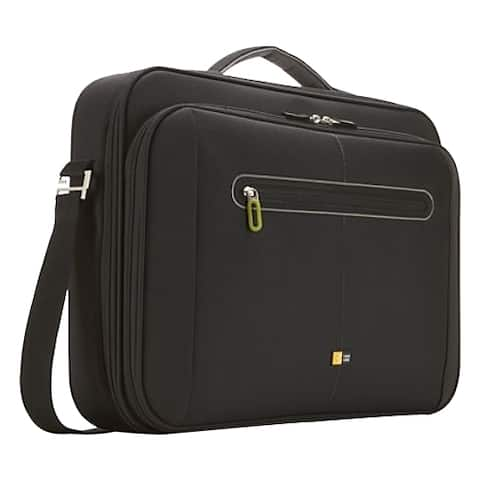 "Case Logic PNC-218 BLACK Carrying Case (Briefcase) for 18"" Notebook - Black"