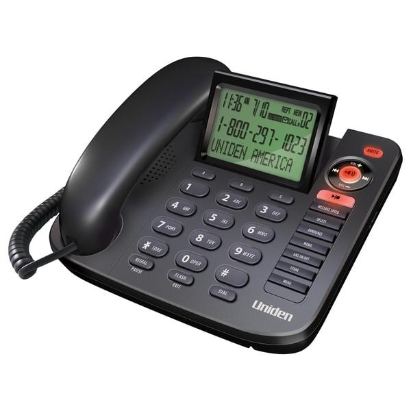 Uniden 1380BK Standard Phone - Black