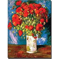 Vincent Van Gogh 'Poppies' Gallery-wrapped Canvas Art