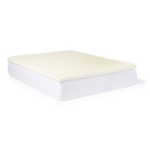 Slumber Solutions Highloft Supreme 3-inch Memory Foam Mattress Topper