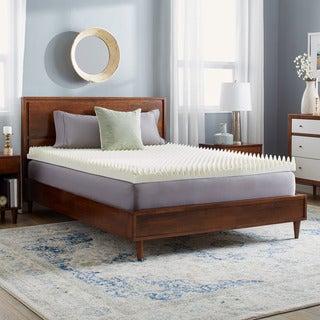 slumber solutions highloft supreme 4inch memory foam mattress topper