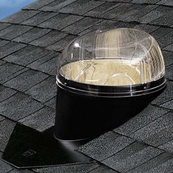 ODL 14-in Tubular Skylight Kit w/ Composite Flashing for Asphalt
