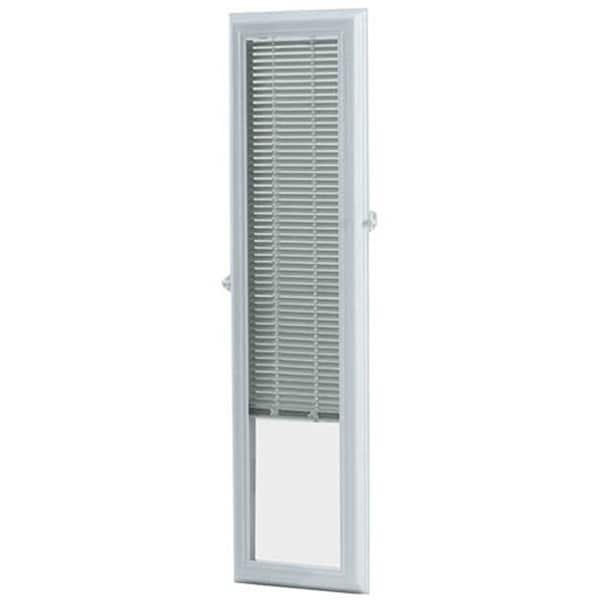 Shop Odl Enclosed Door 8x36 Inch White Sidelights With