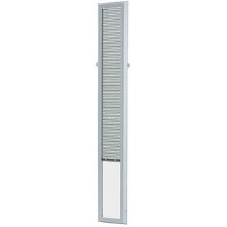 "Add On Blinds by ODL for Raised Frame Sidelights 9"" x 66"" - White - 7 x 64"
