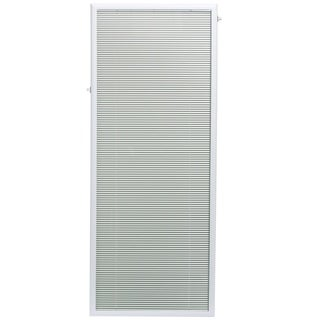 ODL Steel 25-inch x 66-inch Flush-fFrame Patio Door Enclosed Blind