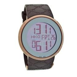 Gucci Men's Goldtone Stainless Steel Case Digital Watch