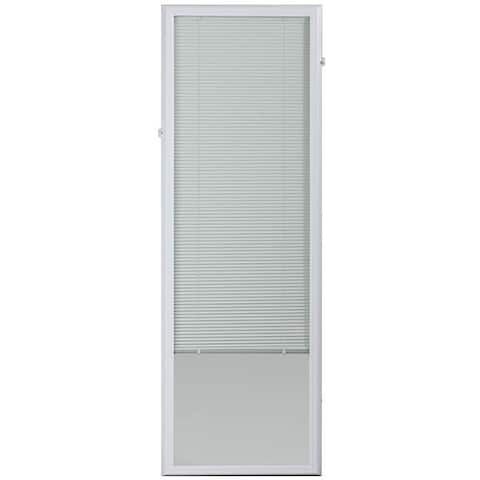 ODL White 22 X 64-inch Add On Blind