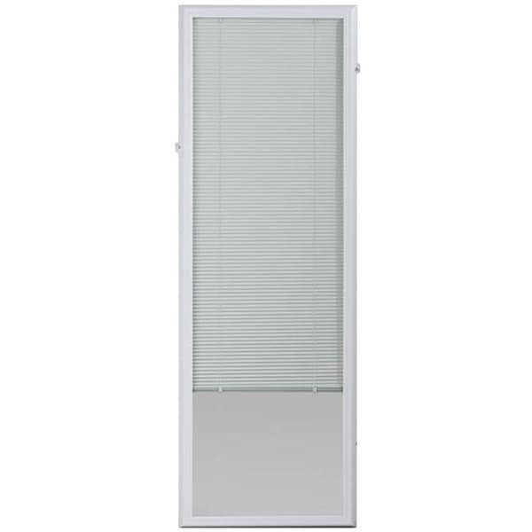 Odl White Enclosed Door Blind 22 X 64 Free Shipping