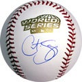 MLB Curt Schilling Hand-signed 2004 World Series Baseball